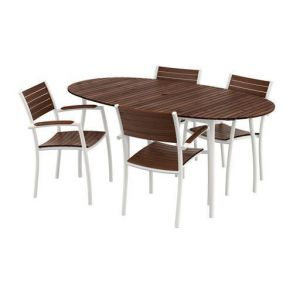 Стол+4 стула с подлокотниками