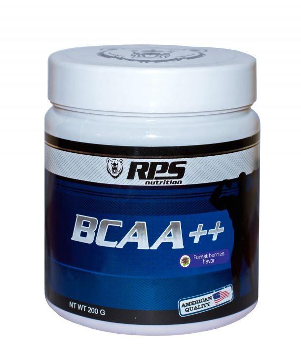 RPS BCAA++ 8:1:1 200 гр. банка - ягоды скл2