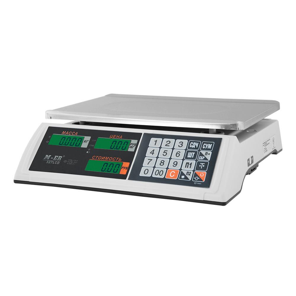Весы торговые M-ER 327 LCD