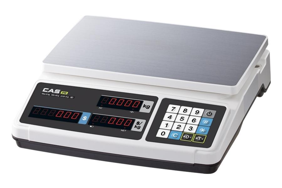 Весы торговые CAS PR-B