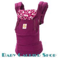 Слинг-рюкзак ERGO BABY CARRIER Эргорюкзак для переноски малышей «Mystic Purple Original» [Эрго Беби BC50351NL слингорюкзак Фиолетовая Мистика]