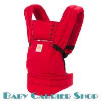 Слинг-рюкзак ERGO BABY CARRIER Эргорюкзак для переноски малышей «Red Sport» [Эрго Беби BCSP610NL слингорюкзак Красный]