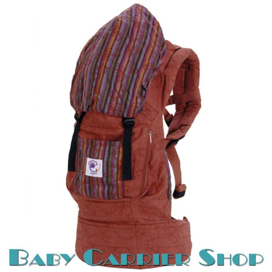 Слинг-рюкзак ERGO BABY CARRIER Эргорюкзак для переноски малышей «Twill Sienna Sunset Organic» [Эрго Беби BC14TOSS слингорюкзак Сиена Сансет]