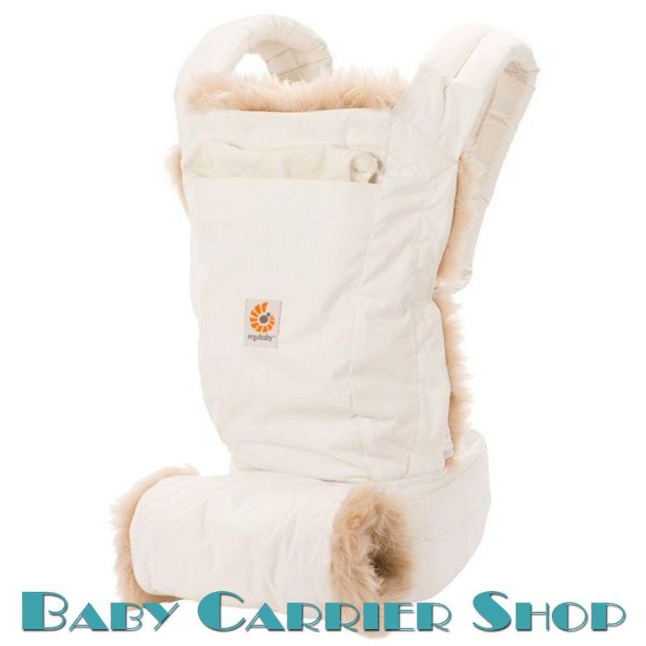 Слинг-рюкзак ERGO BABY CARRIER Эргорюкзак для переноски малышей «Winter Edition Designer» [Эрго Беби BC109NL слингорюкзак Зимний с мехом]