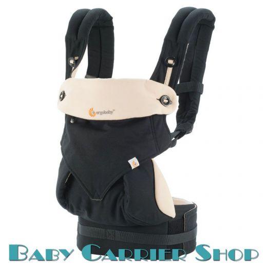 """Слинг-рюкзак ERGO BABY CARRIER Эргорюкзак для переноски малышей «Black with Camel Four Position 360» [Эрго Беби BC360BLKCAM1NL слингорюкзак """"лицом к миру"""" 360-Черный/Бежевый]"""
