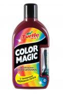 Описание Цветообогащенный восковой автополироль с тонирующим карандашом COLOR MAGIC PLUS темно-красный FG7012 объем: 500 мл