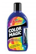 Описание Цветообогащенный восковой автополироль с тонирующим карандашом COLOR MAGIC PLUS темно-синий FG7013 объем: 500 мл