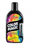 Описание Цветообогащенный восковой автополироль с тонирующим карандашом COLOR MAGIC PLUS черный FG7014 объем: 500 мл