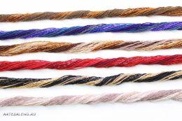 Ожерелье  Венецианский бисер скрученый 30 нитей