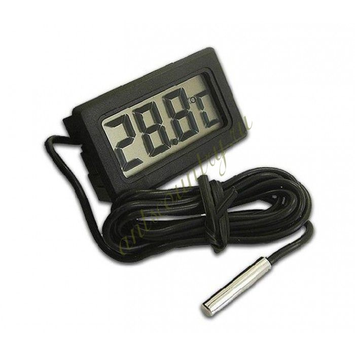 ЖК-термометр с выносным датчиком