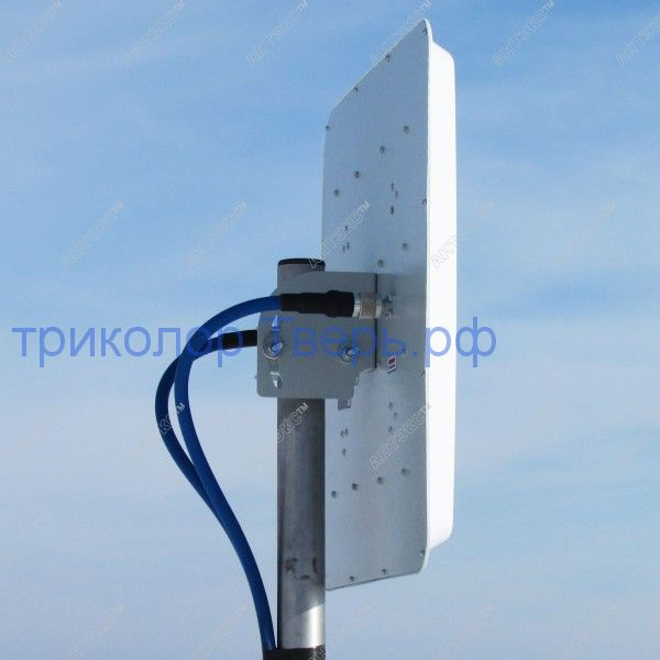 MIMO 2x2 - широкополосная панельная антенна 4G/3G/2G