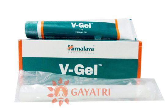 """Вагинальный гель """"Ви-Гель"""" 30гр.Производитель""""Хималая""""/V-Gel,30gm/Himalaya"""