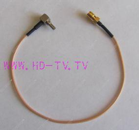 Антенный адаптер для USB 3G/4G модемов Huawei (SMA-fem. - CRC9-121L)