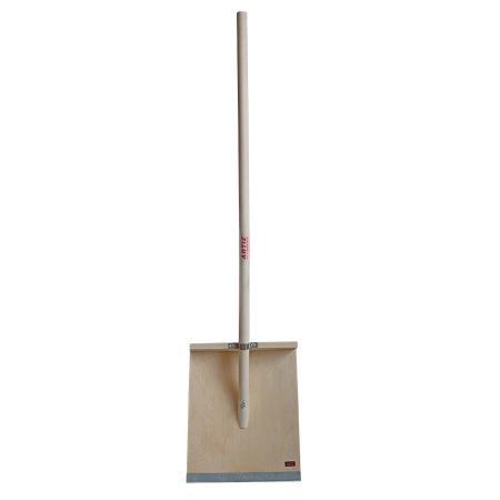 Лопата деревянная для уборки снега ЛСБ (500х600 мм)