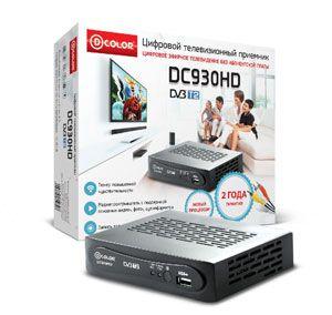 Цифровой ТВ приемник DC930HD