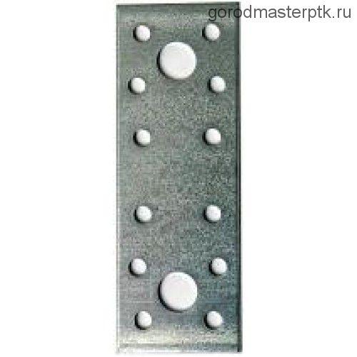 Пластина крепежная оциинк. перфорир.100х36х2 мм
