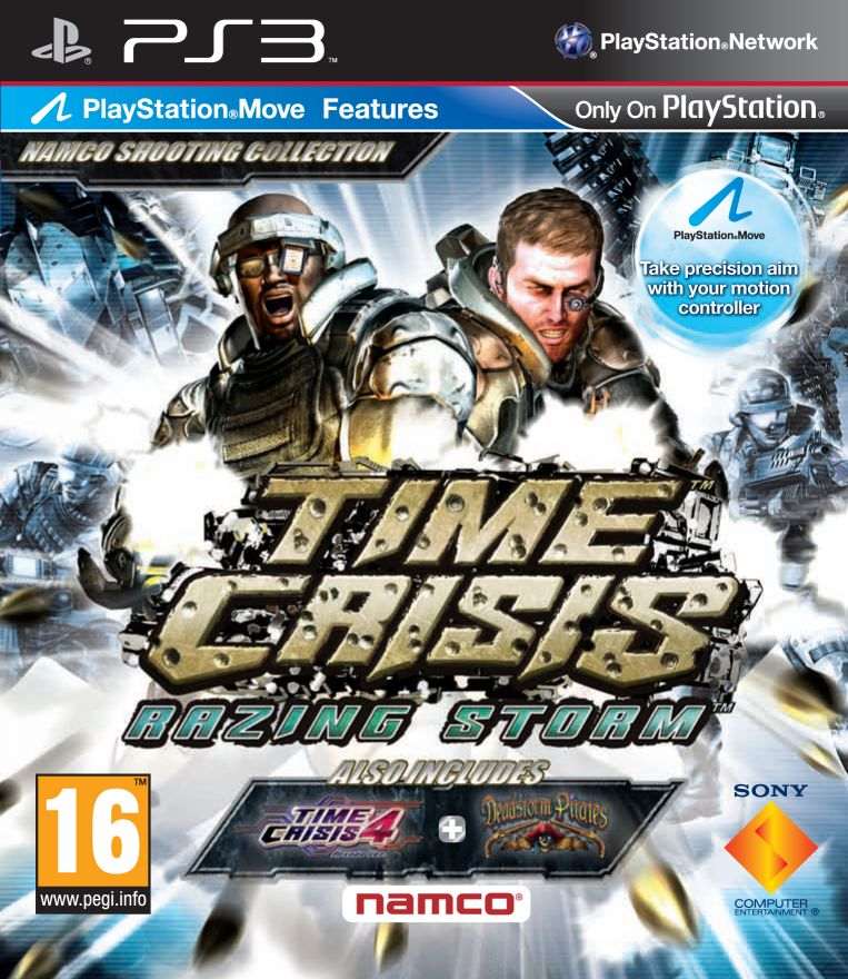 Игра Time Crisis Razing Storm (PS3)