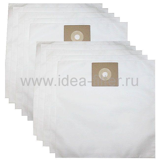 IDEA NU-01 - мешки  для пылесоса NUMATIC - 10 штук синтетические одноразовые