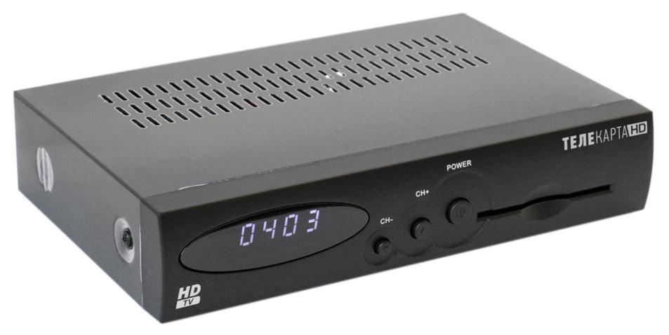 Ресивер EVO 07 HD + Телекарта HD (Безлимитный - 1 месяцев)