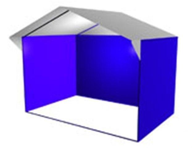 Палатка Домик 2,5 х 2,0