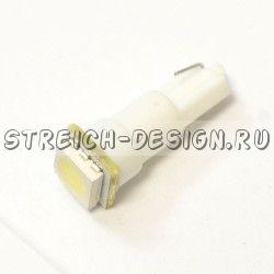 Светодиодная лампа T5 1SMD 5050 белая 12V
