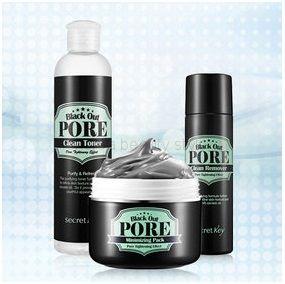 SECRET KEY  BLACK OUT PORE  - комплект по очищению кожи