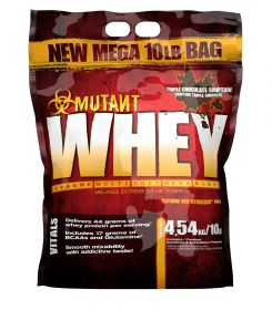Mutant Whey 4.54кг Шоколад