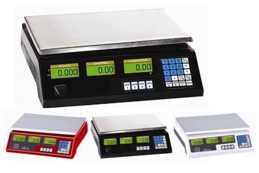 Весы торговые электронные Romitech NECS-30-1