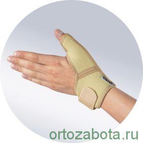 Бандаж Orto AWU 601 на лучезапястный сустав с шиной на I палец