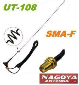 Антенна автомобильная Nagoya UT-108UV SMA-Famale