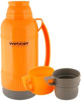 Термос Webber оранжевый 1,8 литра