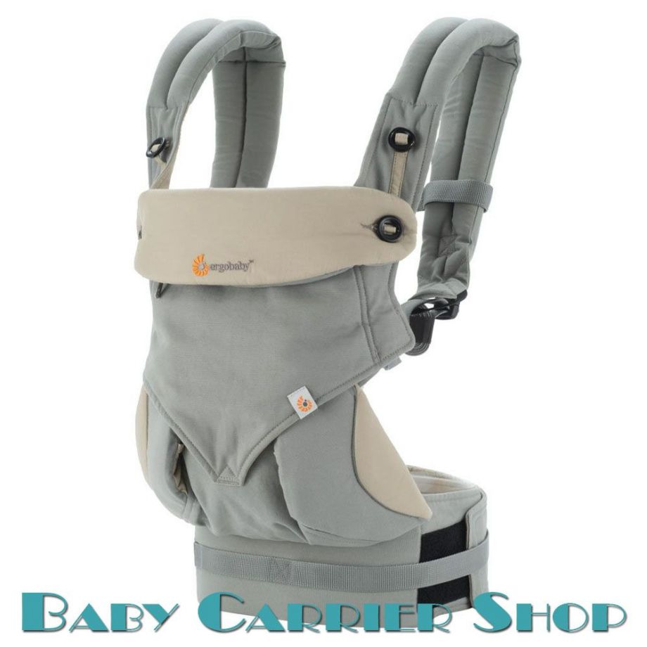 """Слинг-рюкзак ERGO BABY CARRIER Эргорюкзак для переноски малышей «Grey Four Position 360» [Эрго Беби BC360GRYTAU1NL слингорюкзак """"лицом к миру"""" 360-Серый]"""