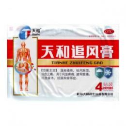 Пластырь обезболивающий Тяньхэ Чжуйфэн Гао 4 шт/уп