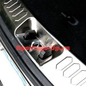 Накладка внутреннего порога багажника, KIA Sportage3