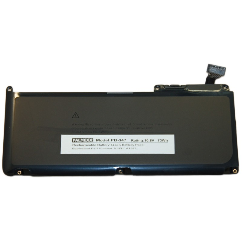 "Аккумулятор PALMEXX A1331 для ноутбука Apple Macbook Pro 13.3"" A1331/A1342 (11,1V-50Wh)"