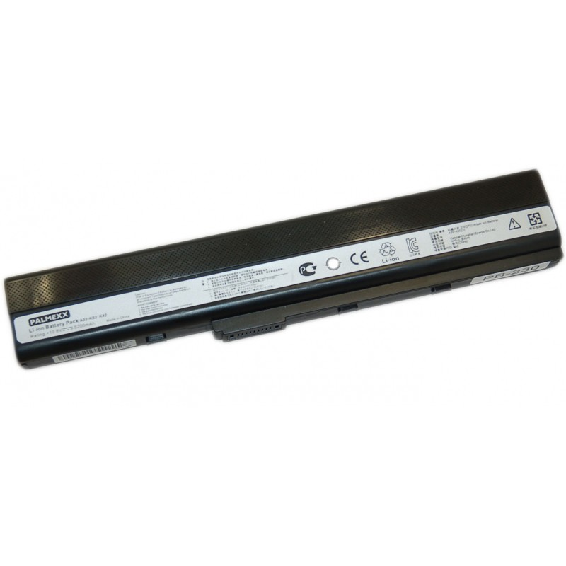 Аккумулятор PALMEXX A32-K52 для ноутбука Asus K42/K52/K62/X42/X52/X62/A42/A52/A62/N82/PRO8E (11,1V-5200mAh)