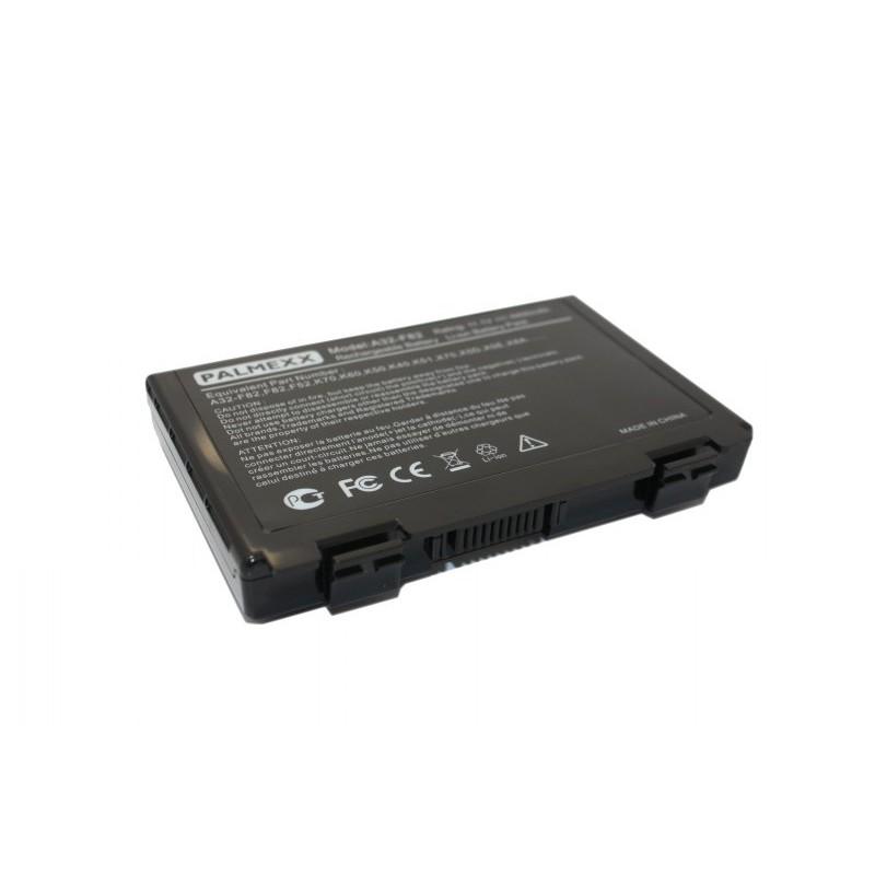 Аккумулятор PALMEXX A32-F82 для ноутбука Asus F82/F83/K40/F52/K50/K51/K60/K61/P50/P81/K70/X65/X66/X70/X5/X8/X7 (11,1V-5200mAh)