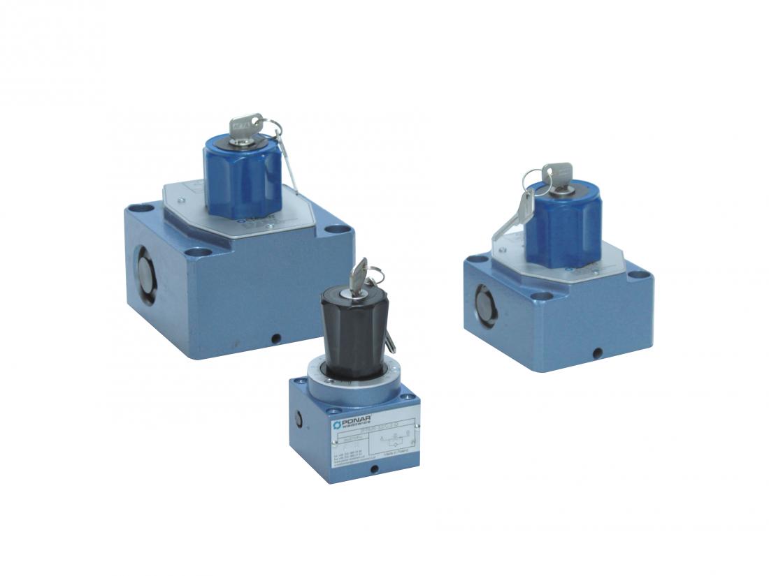 2FRM10 и  2FRM16      2-х ходовой регулятор расхода