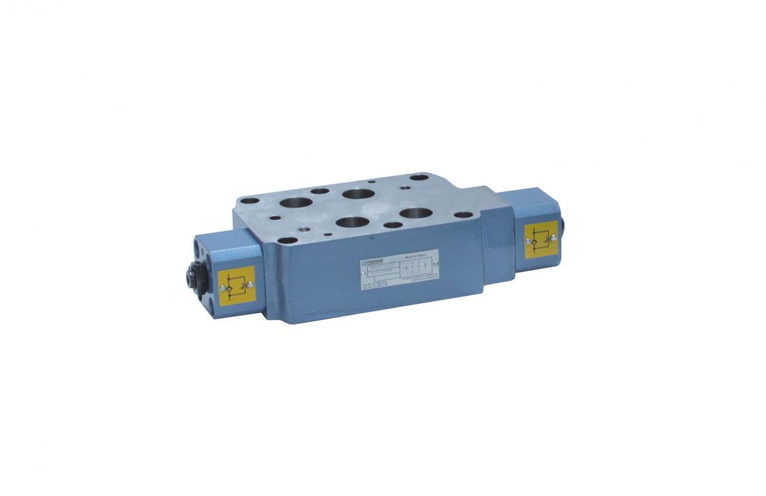 Z2FS22 регулируемый дроссель с обратным клапаном модульного монтажа