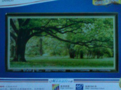 """Купить набор для вышивания крестом """"Весенний лес"""" (шелковые нити, триптих)"""