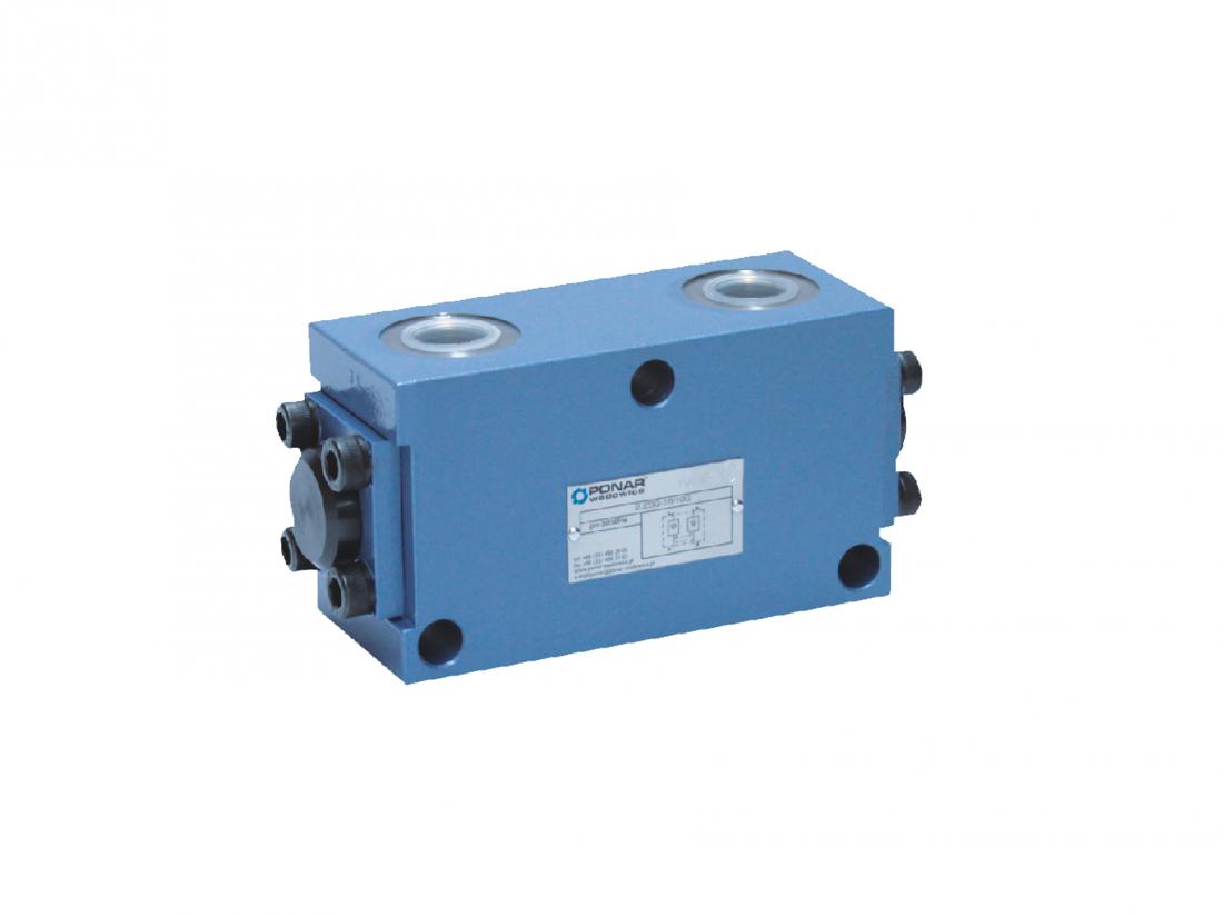 2 UZSG16 cдвоенный обратный управляемый клапан
