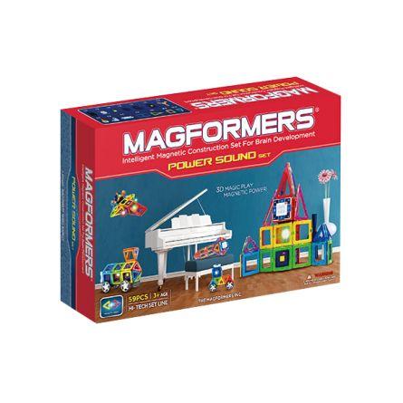 Магнитный конструктор Power Sound Set