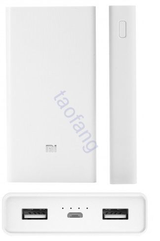 Xiaomi Power Bank на 20000mAh