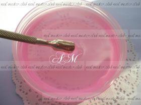 Однофазный прозрачно розовый  гельTM Nail Master Pink UV One Gel #3 высокой вязкости 100 мл