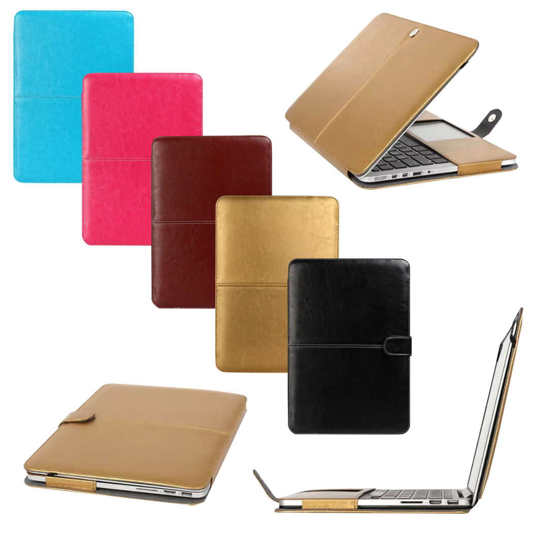 Чехол-книга для ноутбука Apple Macbook Air (кожзам)