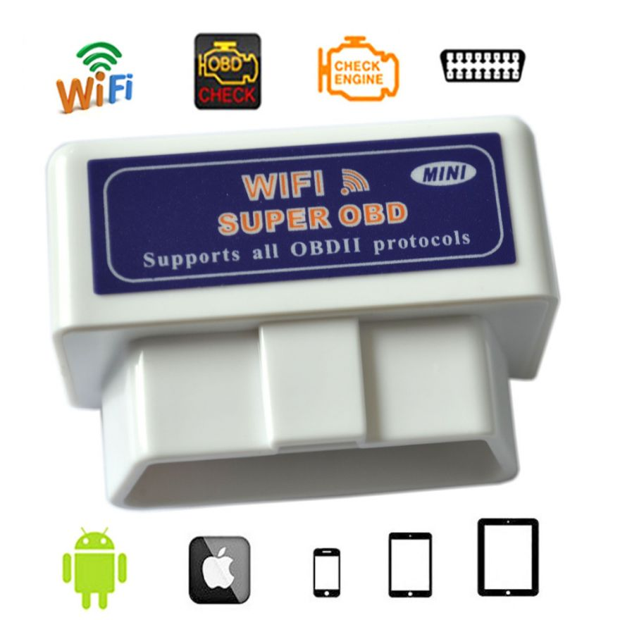 ELM327 WiFi Mini v1.5 чип PIC18F25K80