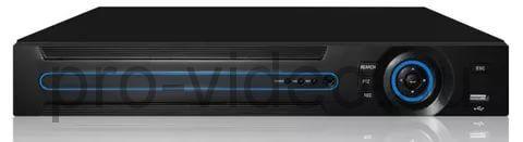 LVDR-2108E AHD    Гибридный: AHD+IP+Analog (960H)