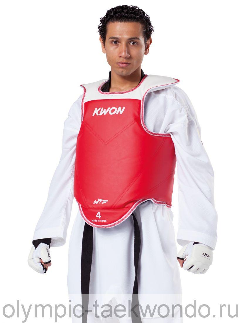 KWON протектор (жилет) защитный для тхэквондо ВТФ