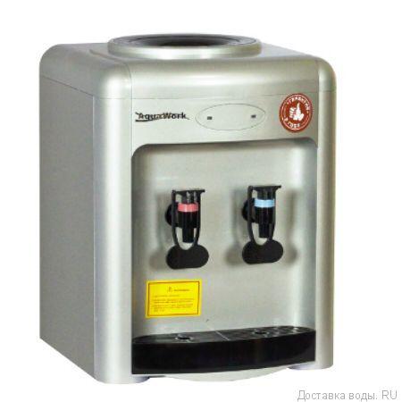 Кулер для воды Aqua Work 36-TDN серебро