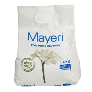 Стиральный порошок для стирки белого Mayeri White 2 кг